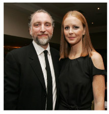 Cuan Hanly with his wife, Jean Butler