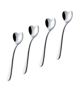Il Caffe Alessi Heart Spoon Set