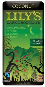 Lily's Coconut Dark Chocolate
