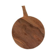 Greta Bean Handmade Black Walnut Cutting Board