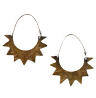 Laurel Hill 'Nova' Hoop Earrings