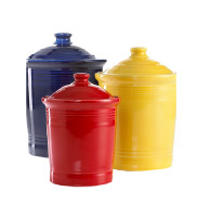 Fiesta Ware Canisters